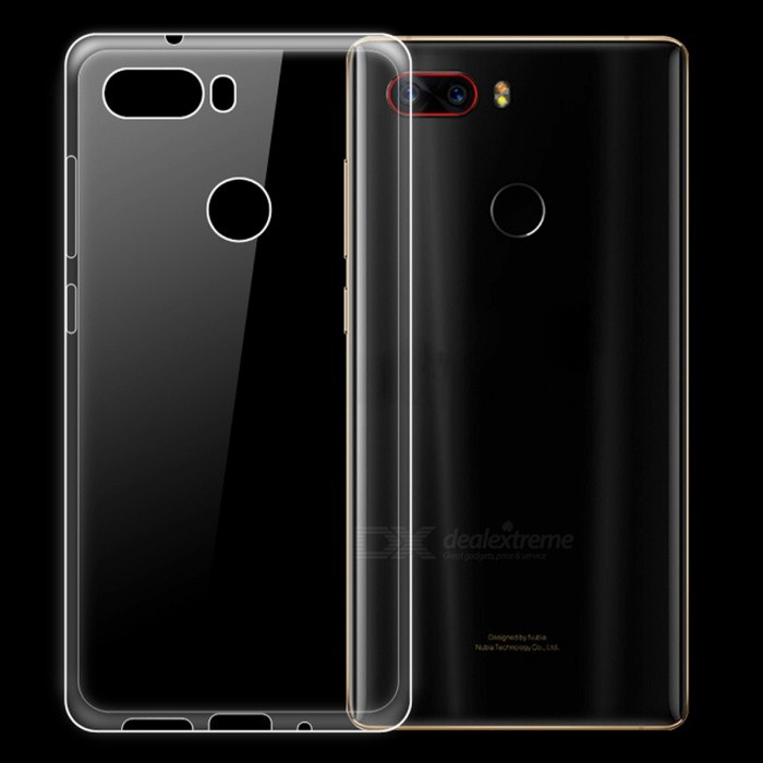Dayspirit Ultra-Thin Protective TPU Back Case for ZTE Nubia Z17s - Transparent
