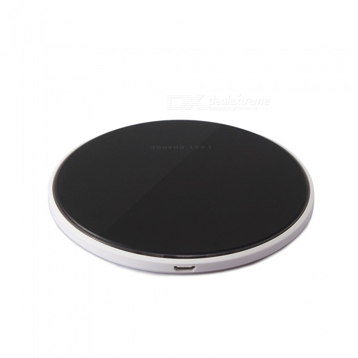 Ultra Slim Sleep-Friendly Qi Fast Wireless Charger for IPHONE X / 8 / 8 Plus / Samsung / LG / Xiaomi