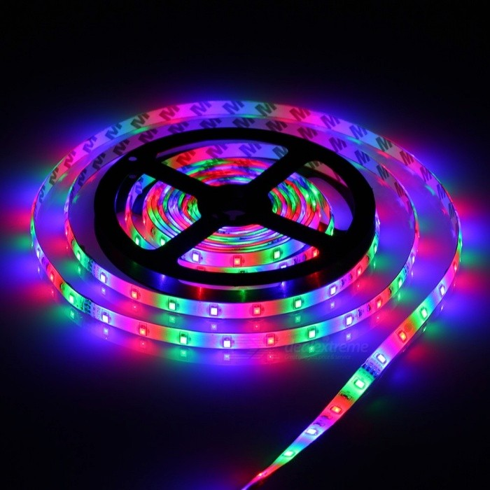 MIFXION 5m 24W 270-LED 2835 SMD  IP65 Waterproof Remote Control RGB Color LED Strip Light