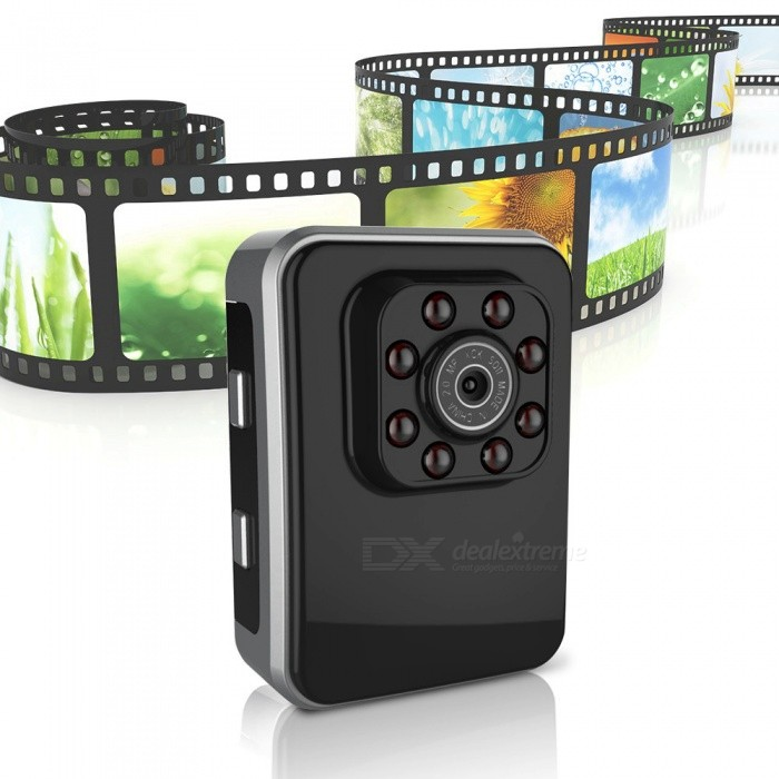 Buy ESAMACT R3 Mini HD Camcorder Action Camera DV w/ USB 2.0 Port, Night Vision with Litecoins with Free Shipping on Gipsybee.com