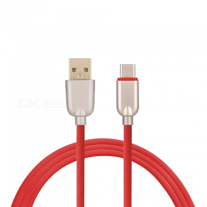 3.4A Quick Charge Usb 3.1 Type-C Charging / Data Transfer Cable for Samsung Galaxy S9 / S9 Plus / S8 / S8 Plus