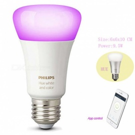Philips-95W-16-Million-Colors-806-Lumen-Ambiance-Fluorescent-Hue-Smart-E27-LED-Bulb-Supports-APP-Control