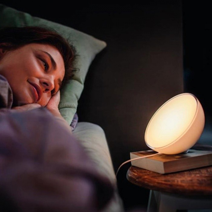 Philips Hue Go Lighting Portable Dimmable Table Lamp, Compatible with Amazon Alexa Apple HomeKit And Google Assistant - White