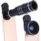 Universal-18X-Clip-on-Optical-Zoom-Telephoto-Wide-Angle-Macro-Lens-with-Flexible-Tripod-for-IPHONE-Samsung-2b-More-Black