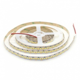 5M DC12V 1200-SMD 2835 LED Non-Waterproof Light Strip Cold White/Warm White Light with Self-adhesive Tape