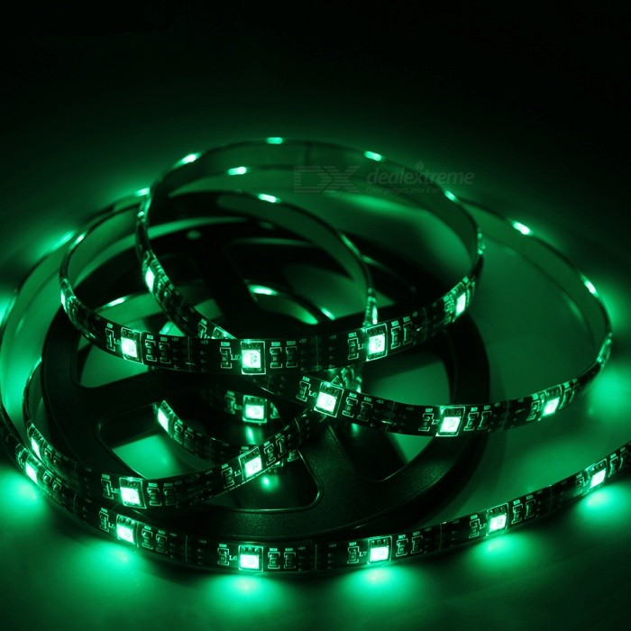 MIFXION 2M 60-SMD 5050 RGB USB Diode Tape 5V DC Waterproof Ribbon Flexible LED Strip High Quality