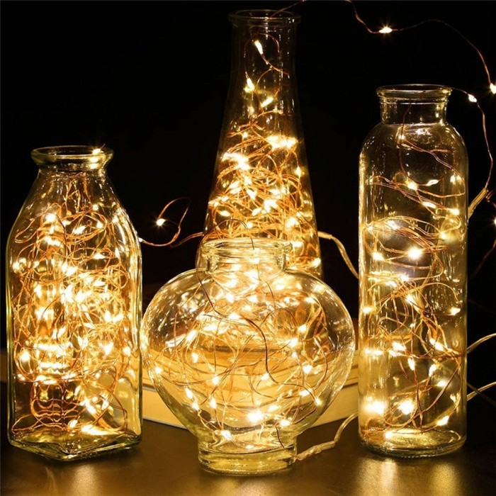 Starry String Lights Mesmerizing 60m Copper Wire 600LED Starry String Lights Christmas Fairy Lights