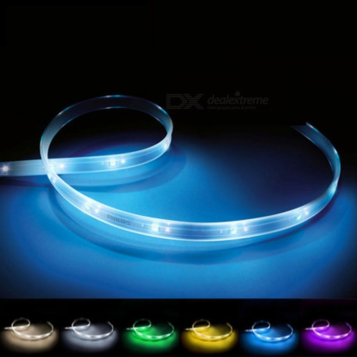 Philips Hue Smart LED Light Strip, Extension 1m Wireless Color-matching Light Strip for Home Decoration - White