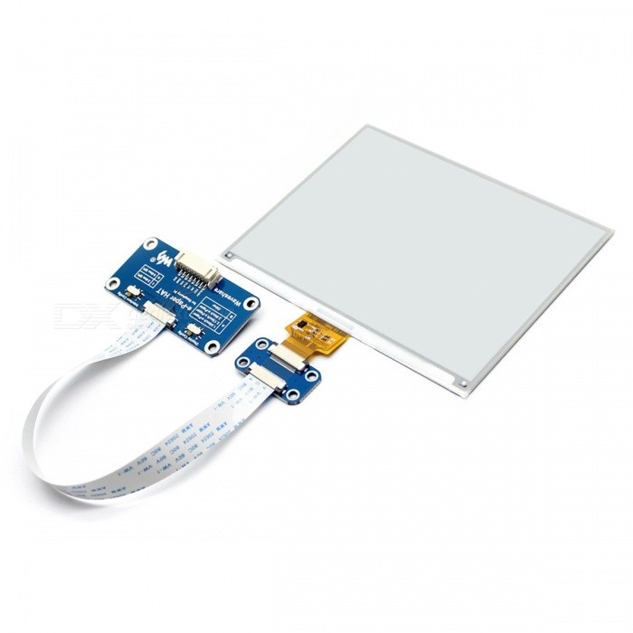 Waveshare-600x448-583inch-E-Ink-Display-HAT-Module-for-Raspberry-Pi-SPI-interface