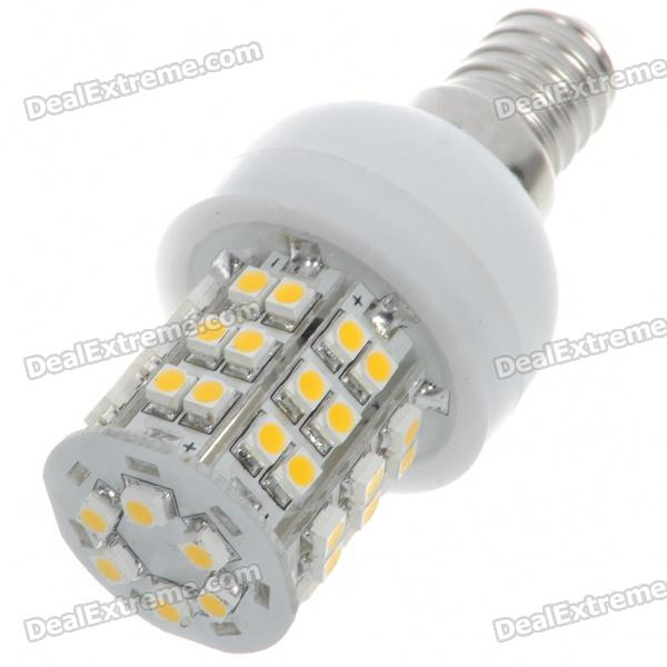 E14 2.5W 140lm 3200K Warm White Light 48*SMD LED Corn Bulb (220~240V)