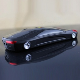 F8 Super Mini Car Style Dual Sim Unlocked Bar Cell Phone with Extra Battery for Kids - Black