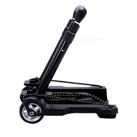 Metal-Folding-Portable-Travel-Cart-Adjustable-Home-Luggage-Carts-Trolley-Shipping-Cart-Fixed-Travel-Bags-Accessories-Supplies