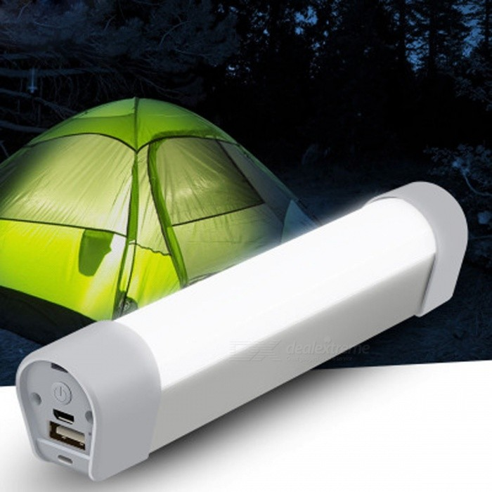 Portable Mini LED Camping Night Light - White