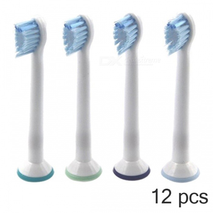 12PCS Electric Toothbrushes Replacement Heads for Philips Sonicare Sensitive HX6084 Oral Hygiene Teeth Care Clean