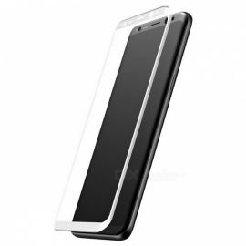 BASEUS-3D-Full-Coverage-Front-Tempered-Glass-Film-Screen-Protector-for-Samsung-Galaxy-S8-White