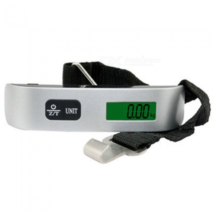 ESAMACT New Weight Balance Digital Scale Balance Scales Electronic Digital Luggage Scale Portable Hanging Scale with Hook Strap