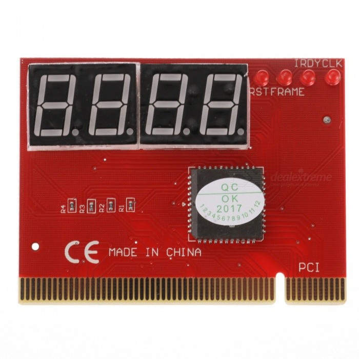 Computer PC 4-Digit Mainboard Motherboard Diagnostic Analyzer Tester PCI Card