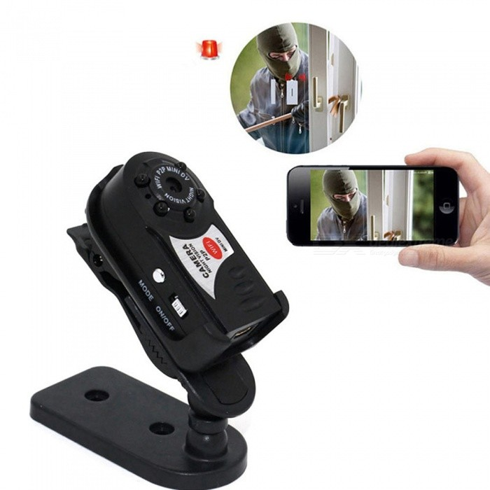 ESAMACT Mini Wi-Fi Camera Wireless Remote Camera DVR Infrared Night Vision Sport Camcorder Motion Detection for Baby Monitor