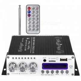 ESAMACT V10 Bluetooth Hi-Fi Class-AB Stereo Super Bass Audio Amplifier, Customized Senior Shielding Inductor with Remote Control