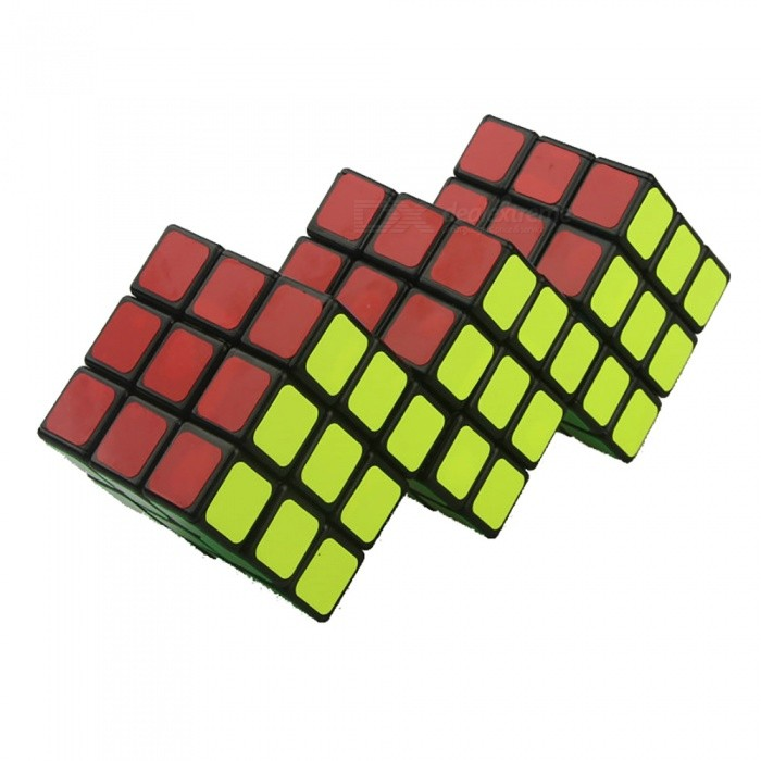 TiSe 3x3 Siamese Speed Cube Smooth Magic Cube Finger Puzzle Toy