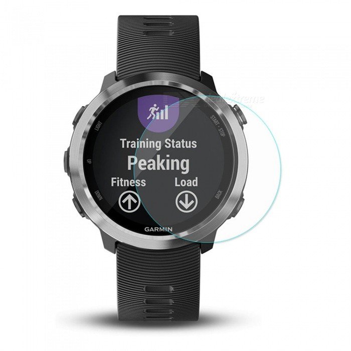 Hat-Prince Ultra Thin Clear Tempered Glass Screen Protector Film for Garmin Forerunner 645