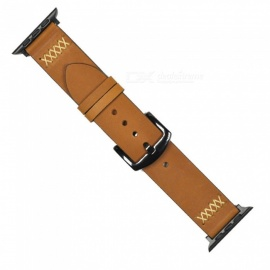 Replacement-38mm-Cowhide-Strap-Band-with-Stainless-Metal-Clasp-for-38mm-Apple-Watch