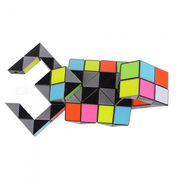 ZHISHENG-3D-Colorful-Magic-Ruler-72-Segments-Snake-Twist-Cube-Puzzle-Kid-Educational-Toy-for-Children