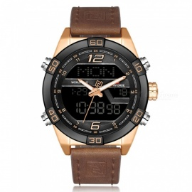 NAVIFORCE-9128-Mens-Sports-PU-Leather-Wrist-Quartz-Watch