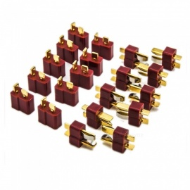 ESAMACT-10-Pairs-T-Plug-Deans-Style-Male-and-Female-Connectors-for-RC-LiPo-Battery