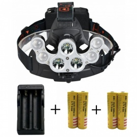 ZHAOYAO-Waterproof-3xT62b4xR5-5000LM-LED-Outdoor-Multi-function-4-Mode-Head-Lamp-with-4x18650-Batteries