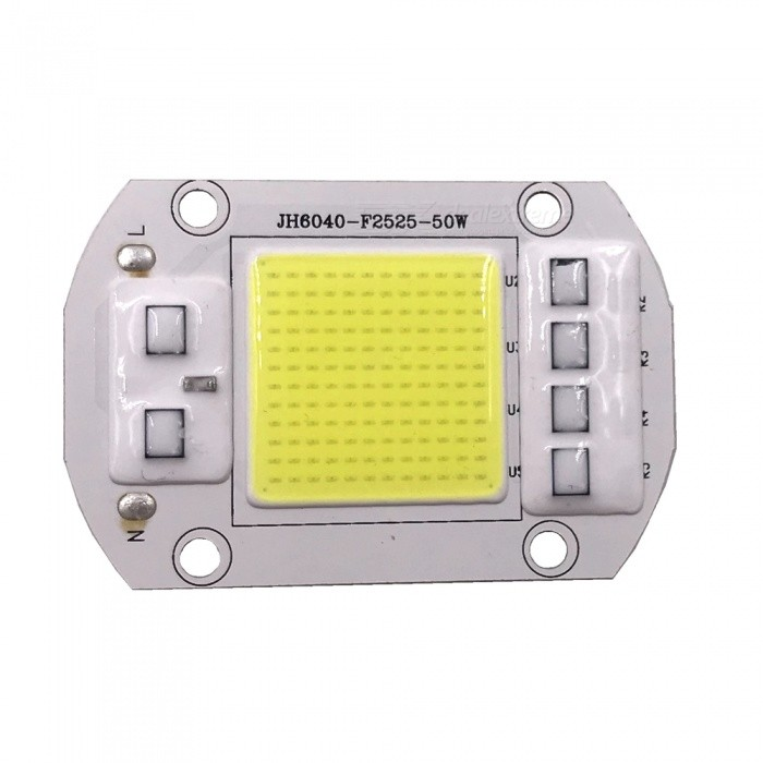 ZHAOYAO 50W 5000lm 220V 144-COB LED Integrated Lamp Bead