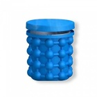 Silicone-Ice-Storage-Bucket-Space-Saving-Reusable-Ice-Cube-Maker-Kitchen-Tool-Genie-Cubes-Machine-Blue