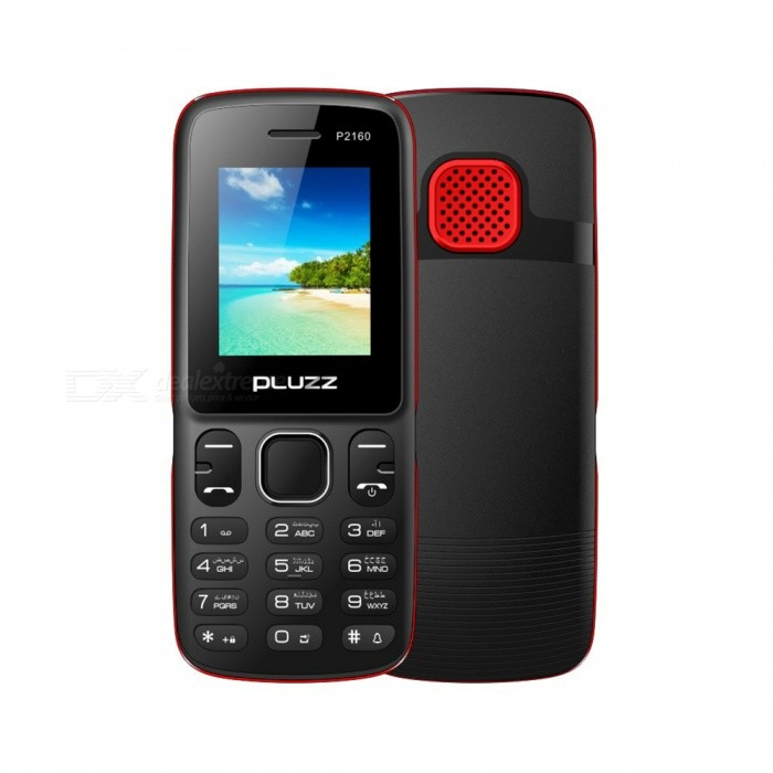 PLUZZ P2160 MTK6261D 32MB RAM 32MB ROM Feature Phone for sale in Bitcoin, Litecoin, Ethereum, Bitcoin Cash with the best price and Free Shipping on Gipsybee.com