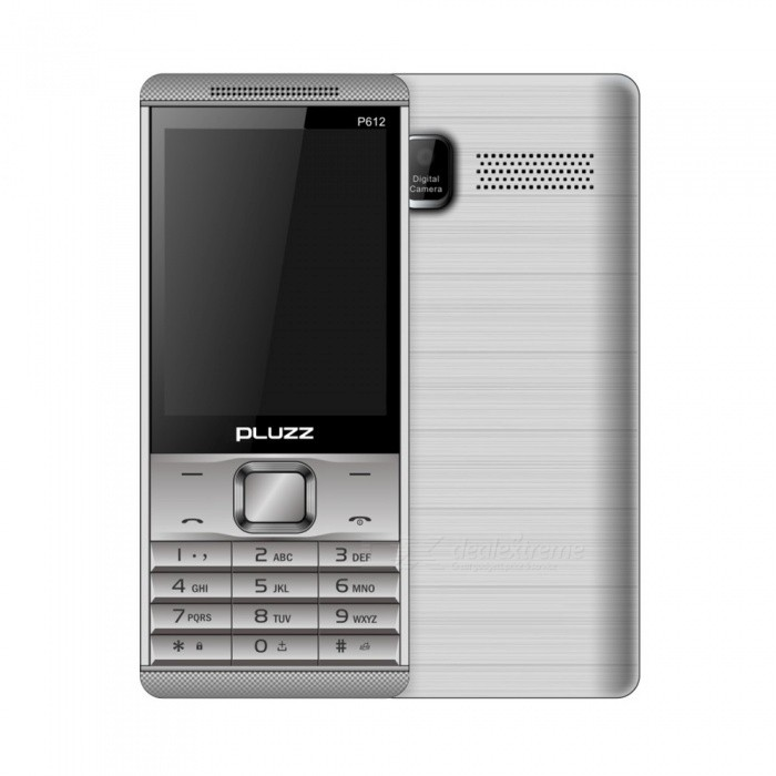 Buy PLUZZ P612 2.8 Dual SIM Phone 32MB RAM 32MB ROM Feature Phone with Litecoins with Free Shipping on Gipsybee.com