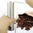 ZHAOYAO Top Rated Portable Stainless Steel Manual Coffee Bean Grinder Hand Spice Mill with Ceramic Grinding Mechanism