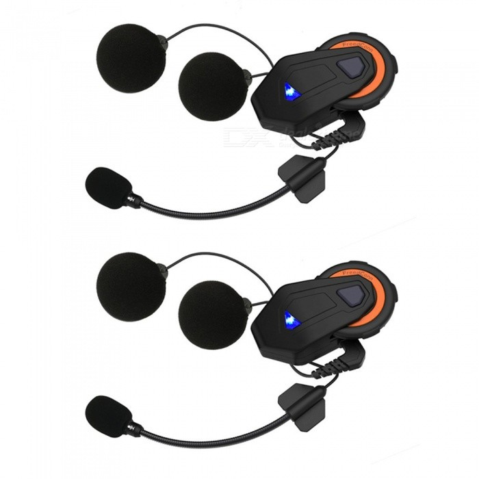2PCS-T-Max-1500m-Motorcycle-Helmet-Bluetooth-Intercom-Headset-6-Runners-Group-Talk-FM-Radio-Bluetooth-V41
