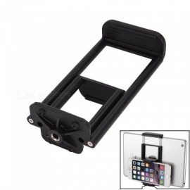 """Cwxuan 2 in 1 Universal Tablet PC / Phone Mount Holder Tripod Adapter - Black (1/4""""Thread)"""