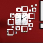 Acrylic-Mirror-Wall-Mounted-Combination-Square-Silent-Clock-for-Study-Room-Living-Room-Red