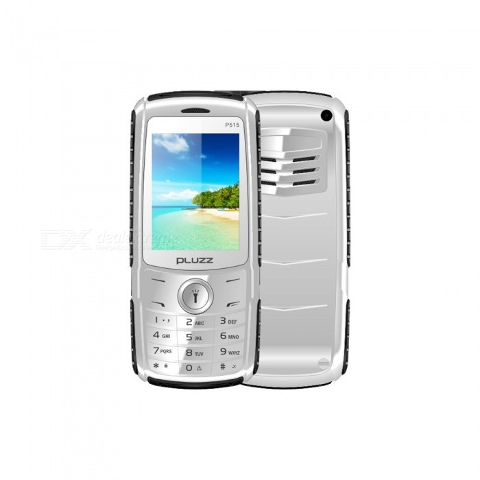 Buy PLUZZ P515 2800mAh Battery Flashlight Feature Phone with Litecoins with Free Shipping on Gipsybee.com