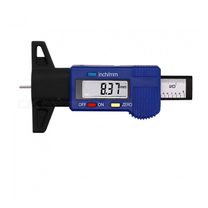 High-Precision Digital Tire Pressure Gauge Pneumatic Gun Depth Gauge Automotive Tire Pressure Monitor