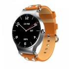 KW98 3G Smartwatch Phone Android 5.1 1.39 inch MTK6580 Quad Core Smart Watch Heart Rate Monitor - Brown + Silver