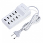 10-Port-Fast-USB-Charging-Power-Strip-Adapter-Wall-Travel-Desktop-Charger-HUB