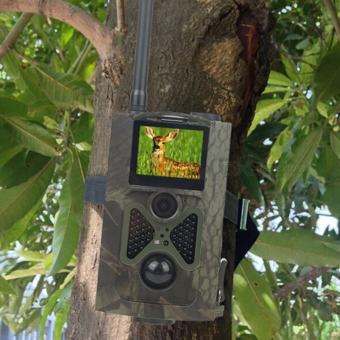 HC-550M Wild Camera Photo Traps Digital Hunting Wildlife Camera GSM MMS HC550M Hunting Camera for sale for the best price on Gipsybee.com.