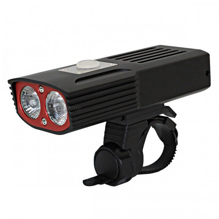 ZHAOYAO-USB-Rechargeable-2-x-XM-L-T6-LED-Bicycle-Front-Light-Black
