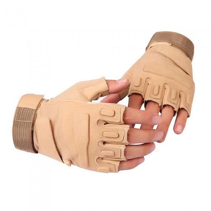 Ctsmart-Outdoor-Tractical-Half-Finger-Bike-Riding-Sun-resistant-Gloves