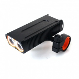 ZHISHUNJIA-LR-Y6-T6-1600lm-4-Mode-Flashlight-Headlamp-USB-Rechargeable-Bicycle-Lamp-w-Central-Bracket