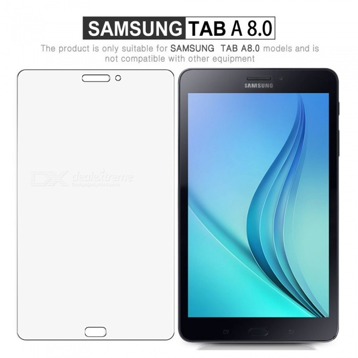 ESAMACT 2Pcs Premium Tempered Glass Screen Protector FilmS for Samsung  Galaxy Tab T380