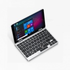 "One Netbook One Mix Yoga Pocket Laptop 7"" IPS Touch Screen Windows 10 8GB DDR3 / 128GB eMMC - Silver"
