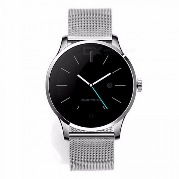 K88H Smart Watch IOS Android Herzfrequenzmonitor Smart Watch 1,22 Zoll IPS Runder Bildschirm Bluetooth Smartwatch
