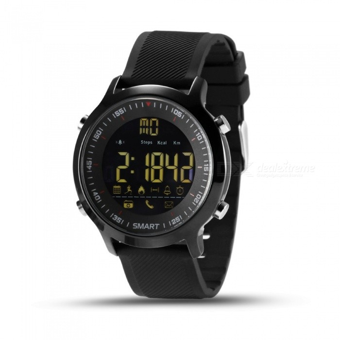 EX18 Smart Watch IP67 Waterproof Support Call And SMS Alert Pedometer Sports Activities Tracker Wristwatch Smartwatch